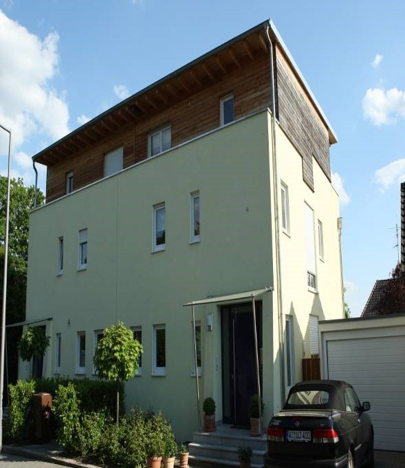 10 new Houses in Wiesbaden with a little bit traditionally style